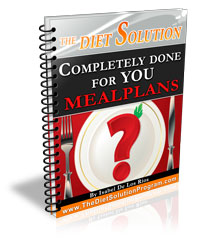 The Diet Solution Program Done For You Meal Plans