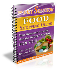 The Diet Solution Shopping List